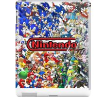 Nintendo Themed, Poster, Tablet case, Pillow!- Duvet Covers On My Page! iPad Case/Skin
