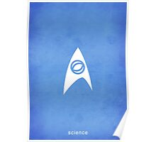 Star Trek - Science Emblem Poster