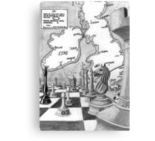 War Game Canvas Print