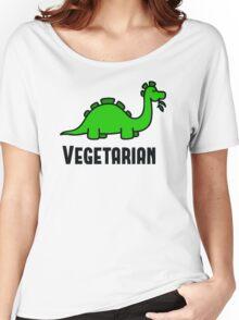 Vegetarian  Women's Relaxed Fit T-Shirt