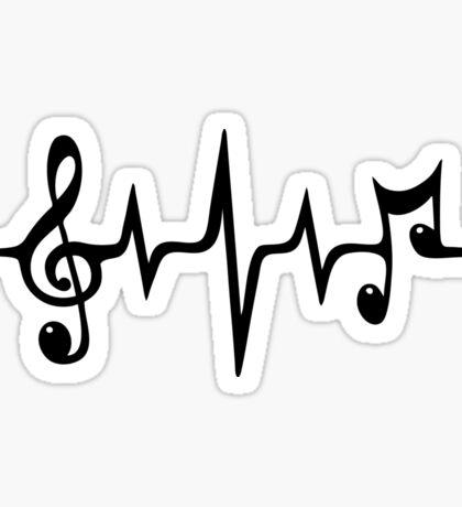 Music Frequency Sticker