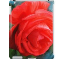 The Red Rose iPad Case/Skin