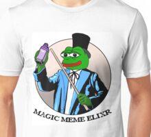Pepe Frog Meme Magic Elixir Unisex T-Shirt