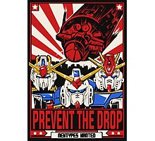 Prevent the Drop Photographic Print