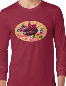 Pokemon Sun and Moon Alola Fanart Long Sleeve T-Shirt