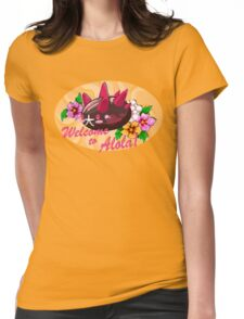Pokemon Sun and Moon Alola Fanart Womens Fitted T-Shirt