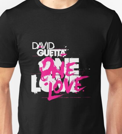 david gueta - one love Unisex T-Shirt