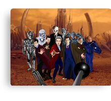 Doctors and Monsters Canvas Print