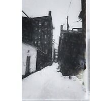Dwight Street Alley Photographic Print