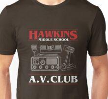 Hawkins A.V. Club Funny T-Shirt Stranger of Things Unisex T-Shirt