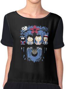 Stranger - Park T Shirt Things Chiffon Top