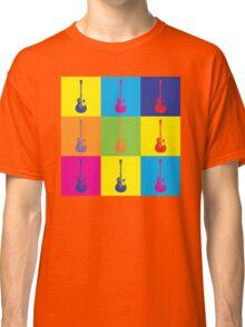 Pop Art Rock Guitar Classic T-Shirt