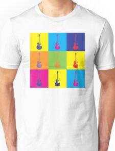 Pop Art Rock Guitar Unisex T-Shirt