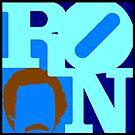Ron Love (Anchorman) by cudatron