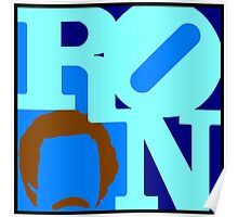 Ron Love (Anchorman) Poster
