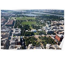 Lafayette Square Aerial Photograph Poster