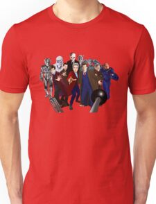 Doctors and Monsters Unisex T-Shirt