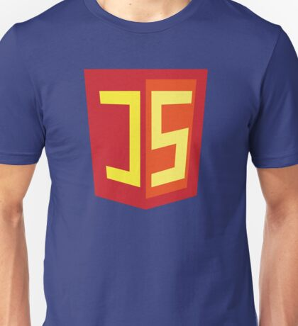 JS Supercoder - Superhero Design for JavaScript Programmers Unisex T-Shirt