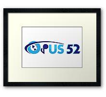 Opus 52, a celebration of genius Framed Print