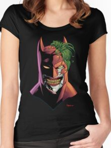 Batface Women's Fitted Scoop T-Shirt