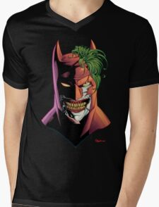 Batface Mens V-Neck T-Shirt