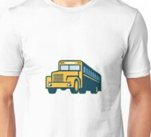 School Bus Vintage Retro Unisex T-Shirt
