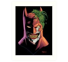 Batface Art Print