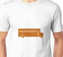 Vintage School Bus Side Retro Unisex T-Shirt