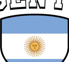 Argentina Supporters Sticker