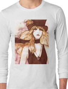 STEVIE NICKS SKETCH Long Sleeve T-Shirt