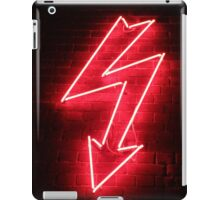 Red Neon iPad Case/Skin