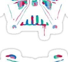 Neon Vader Sticker