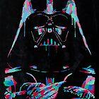 Neon Vader by kevincharles