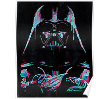 Neon Vader Poster