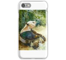 Stop and smell the Flowers id1270236 panda bear iPhone Case/Skin
