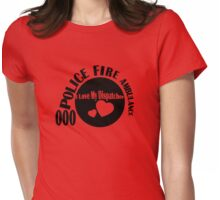 I LOVE MY DISPATCHER Womens Fitted T-Shirt