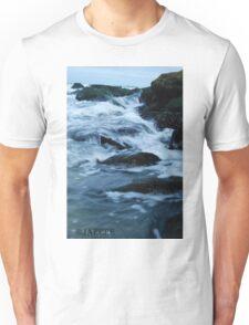 Streaming waves - Long Beach, NY Unisex T-Shirt