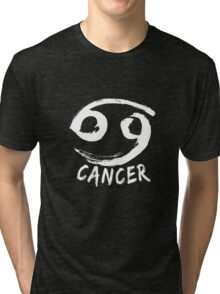 Cancer Zodiac Horoscope Sign Artwork Tri-blend T-Shirt