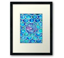 Mandala Mermaid Framed Print