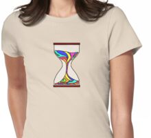 Hour Glass Womens Fitted T-Shirt