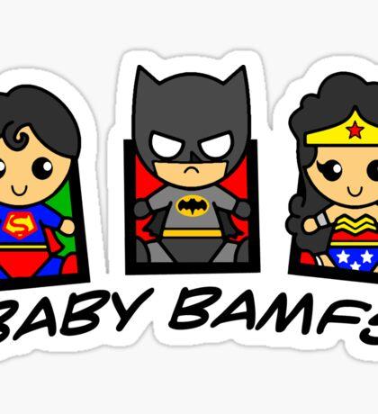 BABY BAMFS Sticker