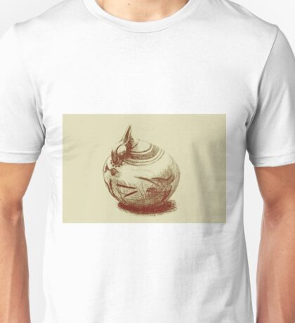 Ancient Greek Pottery Drawing Unisex T-Shirt