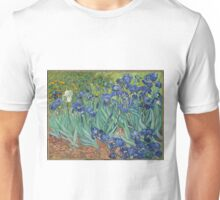 Irises by Vincent Van Gogh Unisex T-Shirt