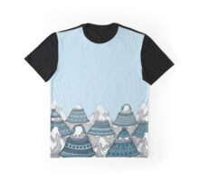 Cosy Mountains Graphic T-Shirt