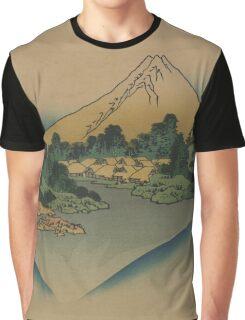 Koshu misaka suimen - Hokusai Katsushika - 1890 Graphic T-Shirt