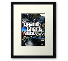 MUH4 GTA Framed Print