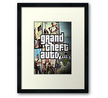 MUH5 GTA Framed Print