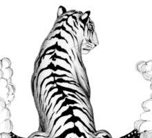 Tiger Moon Sticker