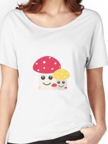 Cute colorful mushrooms Women's Relaxed Fit T-Shirt