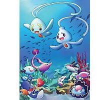 Pokemon underwater Photographic Print